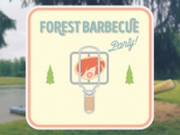 Forest BBQ party
