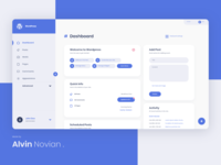 WordPress Dashboard concept