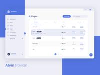 WordPress Design Concept - Pages