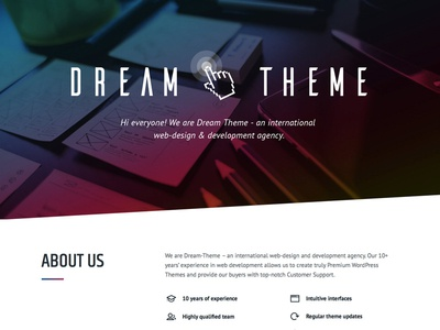 Dream-Theme's official website