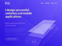 Personal portfolio redesign project