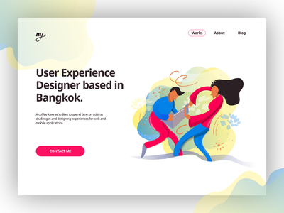 Nahum Yamin vector design brand illustraion ux ui