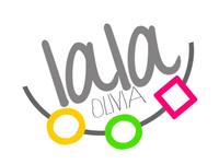 la la logo concept
