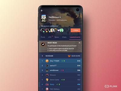 Gaming hubs community hub games gaming application android concept app ui