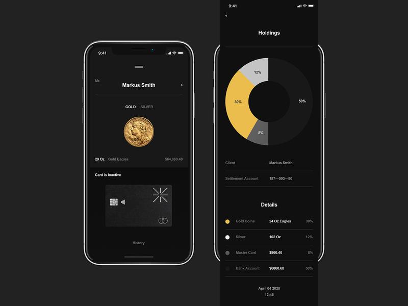 Golden Suisse App logo flat appdesign app mobile branding typography minimal ux ui