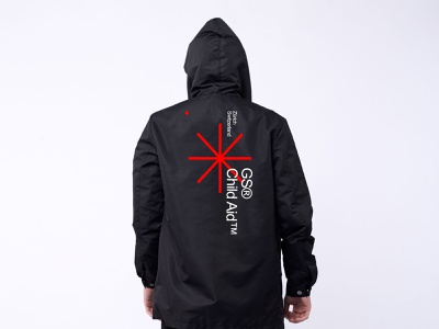 GS Child Aid logotype logomark jacket design minimal identity icon vector branding logo