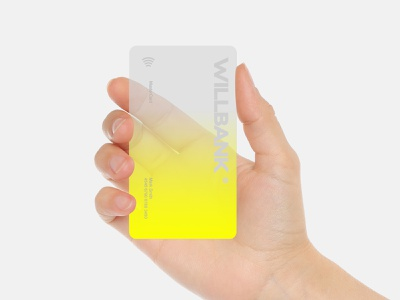 Willbank flat typography identitydesign identity card vector branding logo design minimal