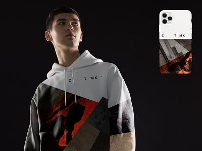 CTMK® 2021 promo merchandise phone case hoodie merch vector branding design illustration
