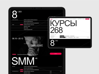 MAD® branding design desktop typography website flat web ux ui minimal