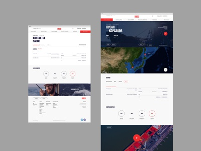 SASCO branding design desktop typography website flat web ux ui minimal