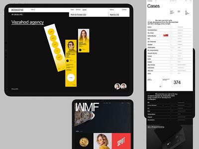 Wemakefab promo branding desktop typography website flat web ux ui minimal