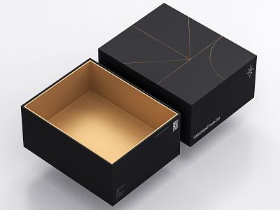 GS—Project box identity vector logo illustration design branding typography flat minimal
