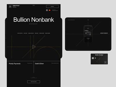 GS—Project branding design desktop typography website flat web ux ui minimal
