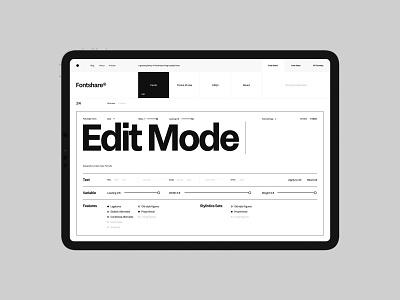 Fontshare branding desktop typo typography website flat web ux ui minimal