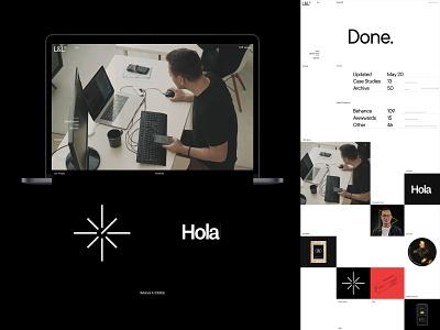 Laguta & Laguta typo design desktop typography website flat web ux ui minimal