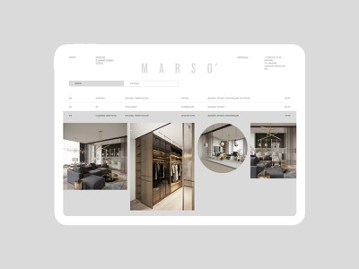 Marso logo illustration design typography website flat web ux ui minimal