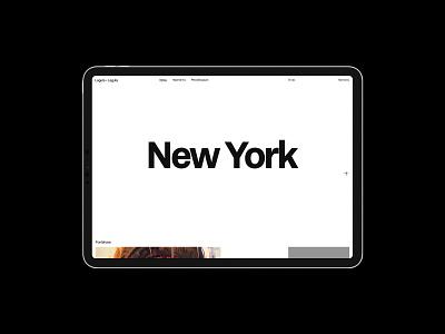 Laguta + Laguta case portfolio logo illustration design typography website flat web ux ui minimal