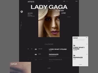 Alchemy fullscreen design typography flat desktop minimal website web ux ui