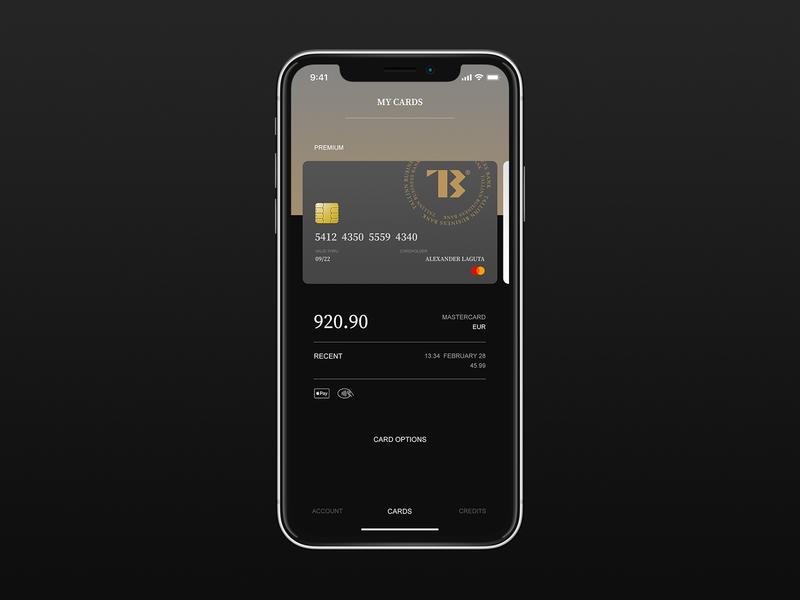 TBB typo iphone app mobile typography fullscreen flat minimal ux ui