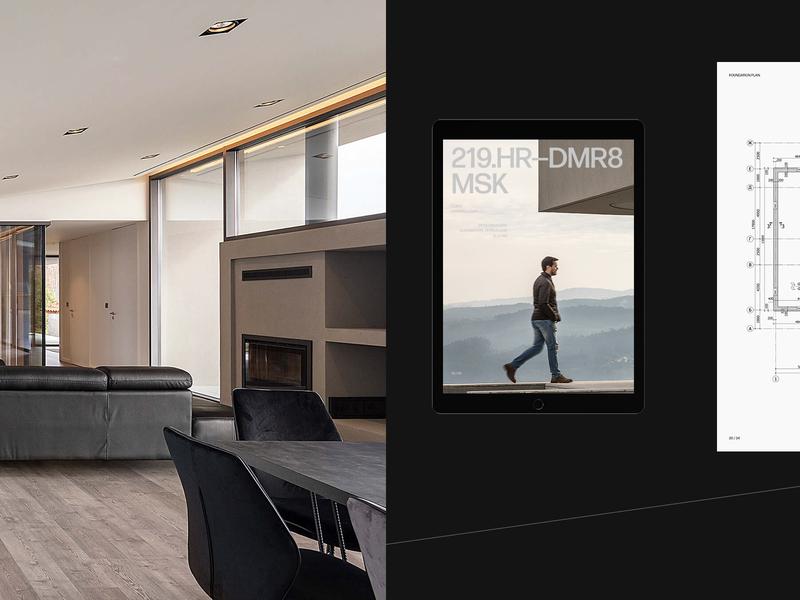 CTMK branding logo promo behance design typography flat ux ui minimal