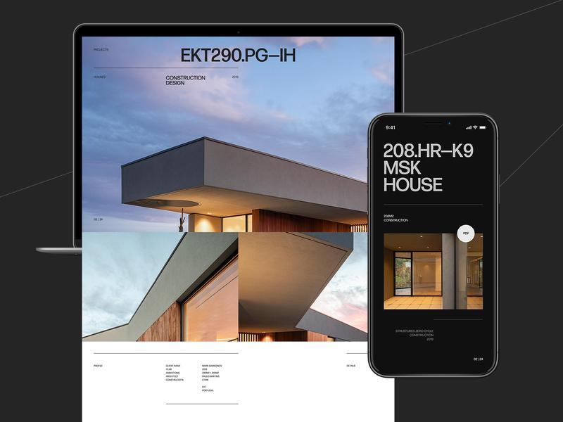 CTMK branding mobile typo typography desktop website web ux ui minimal