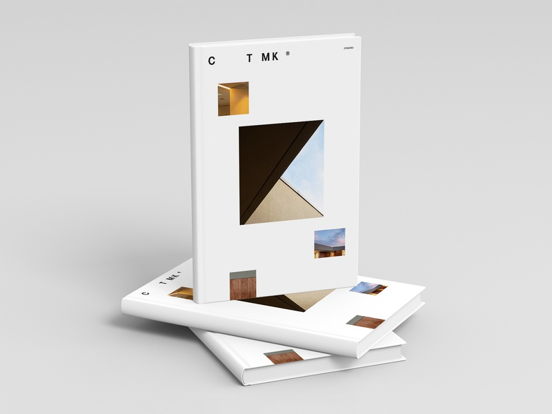 CTMK print editorial branding vector logo illustration design typography flat minimal