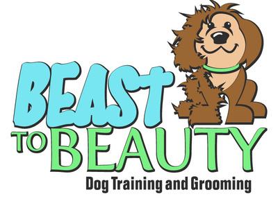 Beast To Beauty Logo illustration vector branding logo design