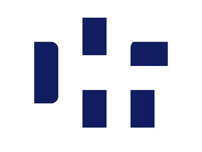 DHF Logo Icon icon design branding logo