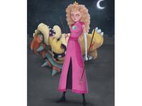 Peach warrior photoshop digital art girl girl power video games mario super mario bowser princess peach peach character