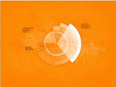 Web Analytics Diagram diagram circle texture rough infographic header graphic