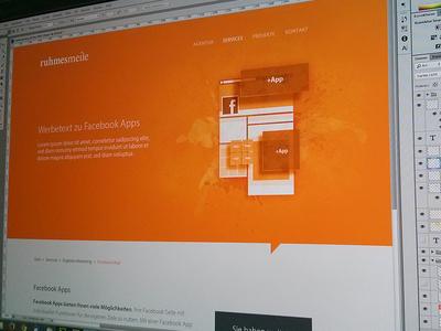 ruhmesmeile website