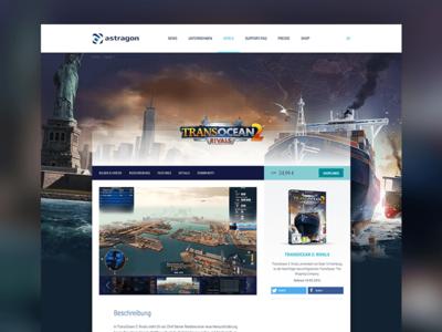 Redesign astragon Entertainment website
