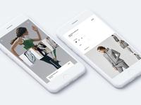 Athletes shopping app