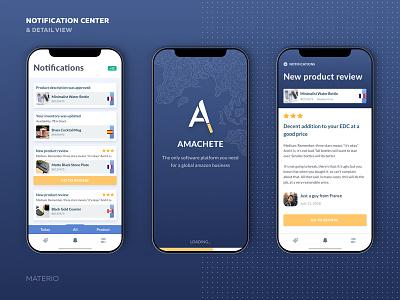 Amazon App Notification Center ios center notification sales mobile fba e-commerce app amazon wip