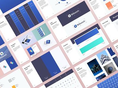 Bitbunch - Style Guide a4 pdf presentation case study brand assets brandbook brand style guide style