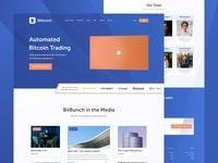 Bitbunch - Landing Page
