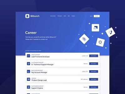 Bitbunch | Career trading dark floating fintech job positions career bitbunch crypto bitcoin
