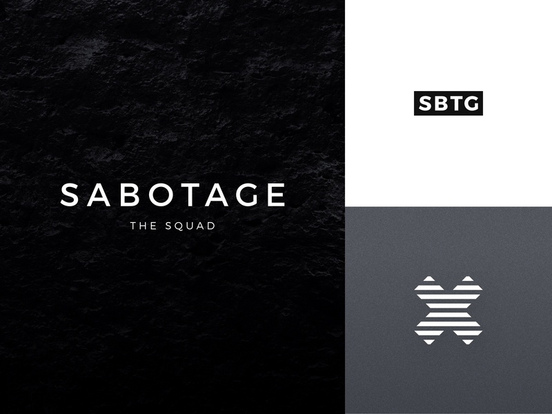 Sabotage | Logo wallpaper poster outfit logomark logotype logo label hoodie gear collection clothes branding black