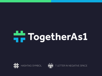 TogetherAs1 - Logo Design Exploration