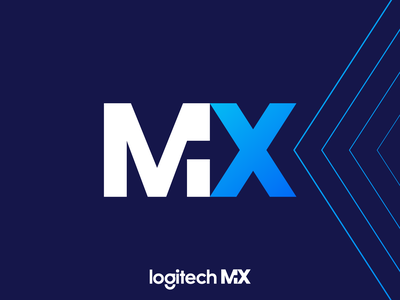 Logitech MX logitech m x letter design corporate symbol logotype identity logo designer logo design branding logo