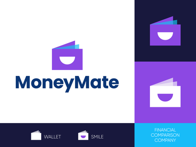 MoneyMate - Logo Design Exploration layers transparent overlay modern branding agency identity design mark icon symbol media tech digital smart logo brand identity brand design tech corporate symbol logotype identity logo designer logo design branding logo