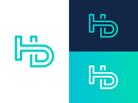 HD Letters - Logo Design Exploration