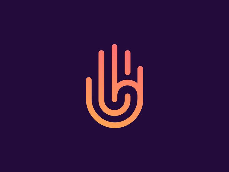 Logo Collection on Behance design letters monogram digital media tech mark app letter behance gradient tech corporate logotype symbol clean identity logo designer logo design icon branding logo