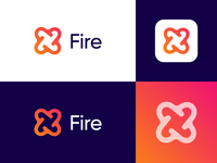 Fire - Logo Design Exploration