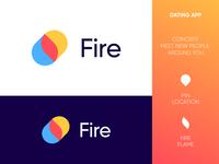 Fire App - Logo Design Concept