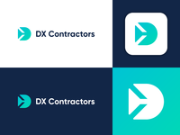 DX Contractors - Logo Design Exploration
