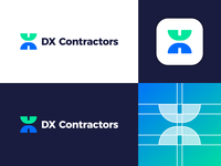 DX Contractors - Logo Design Concept