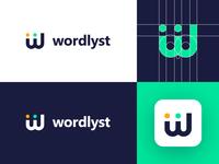 Wordlyst - Logo Design Concept
