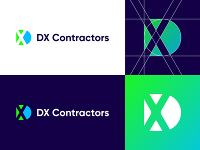 DX Contractors - Logo Design Exploration