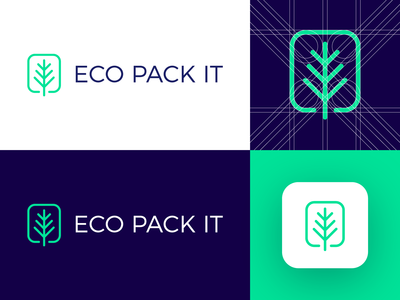 Eco Pack It - Logo Design Concept
